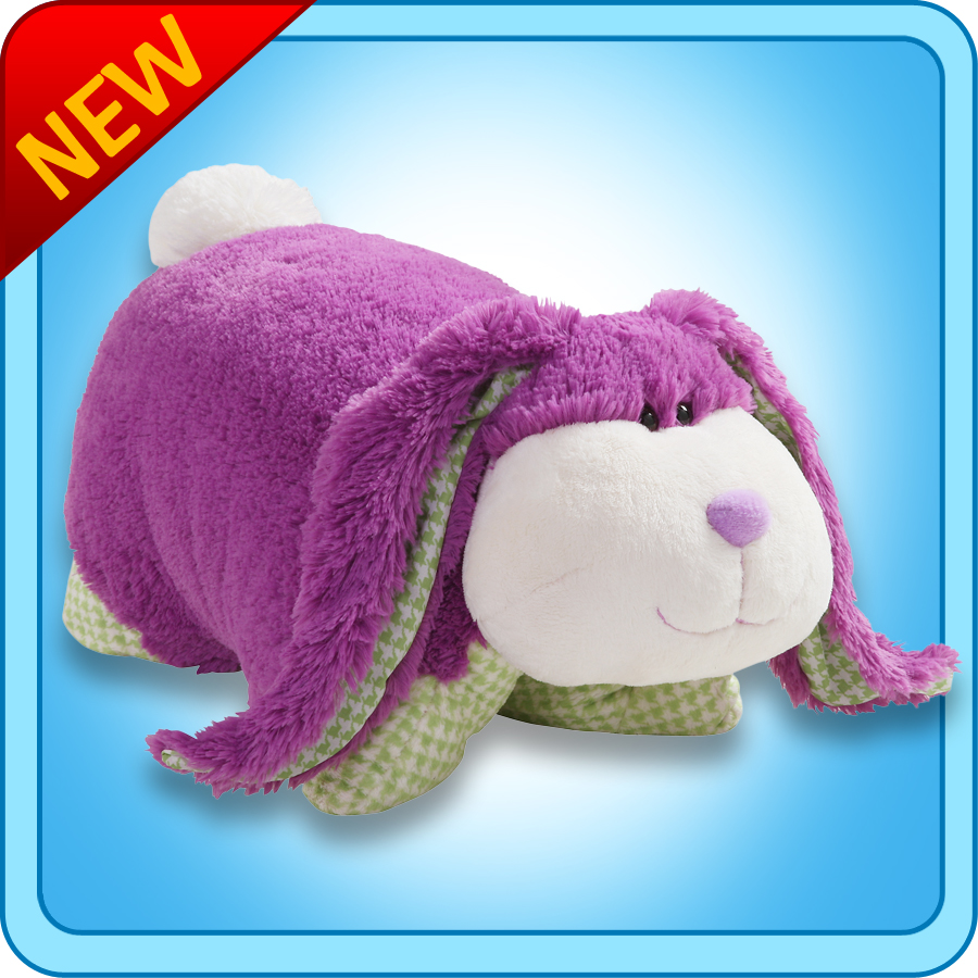 04/19/11 Pillow Pets Purple Fluffy Bunny Giveaway *Lower ...
