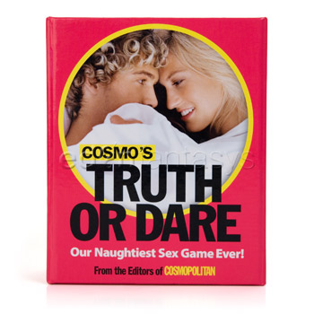 Cosmo's Truth Or Dare deck of cards is a fun couples game. Out of ideas?