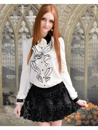 Most popular tags for this image include: naturered, black, cute, dress and