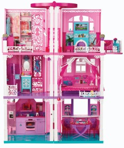 01/05/14 Barbie Dream House & KidKraft Waterfall Mountain Train Set Table Giveaway