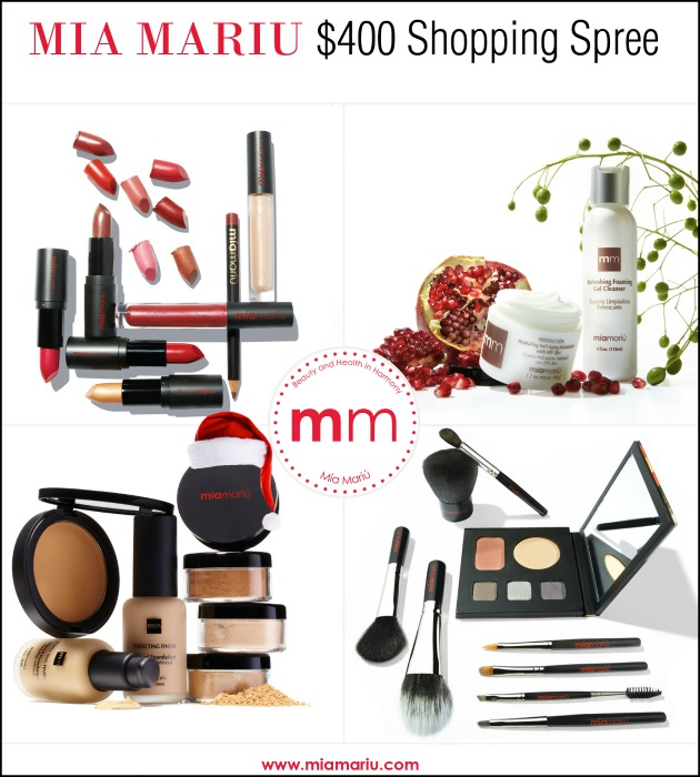 12/23/13 Mia Mariu $400 Shopping Spree Giveaway