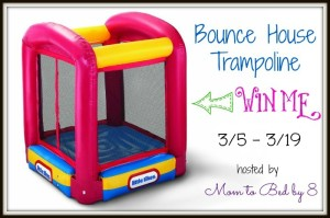 03/19/14 Bounce House Trampoline Giveaway