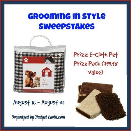 Grooming in Style Sweepstakes