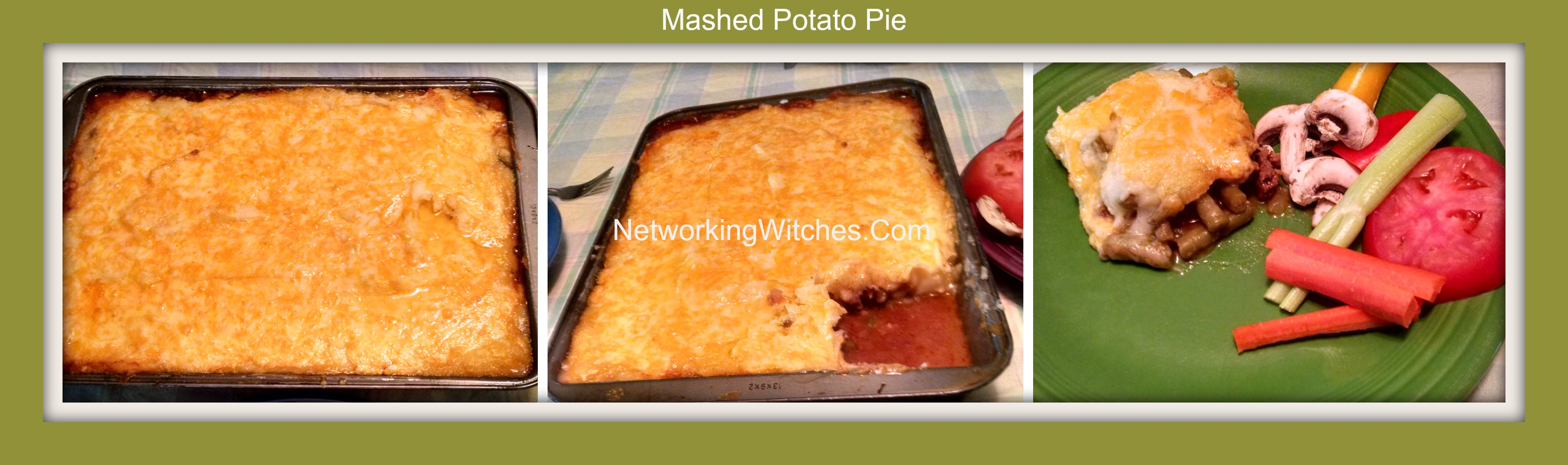 Delicious Mashed Potato Pie
