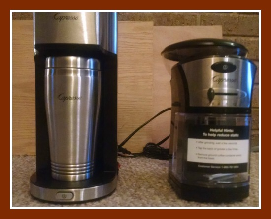 11/26/14 Capresso Personal Coffee Brewer & Grinder Giveaway