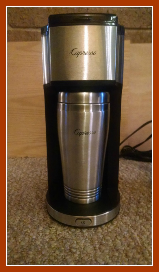 Personal Coffee Maker With Grinder : 11/26/14 Capresso Personal Coffee Brewer & Grinder Giveaway