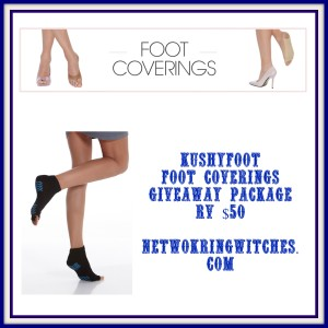 Enter the KushyFoot Giveaway. Ends 5/5