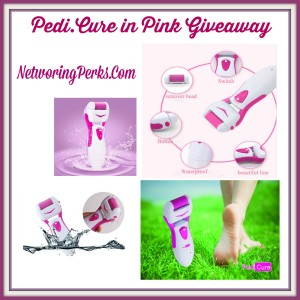 Enter the Pedi.Cure in Pink Giveaway. Ends 5/2.