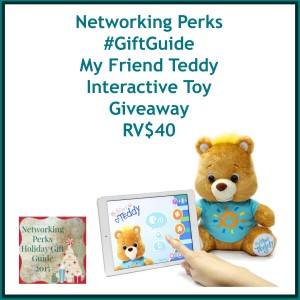 Enter the My Friend Teddy Interactive Toy Giveaway. Ends 11/6
