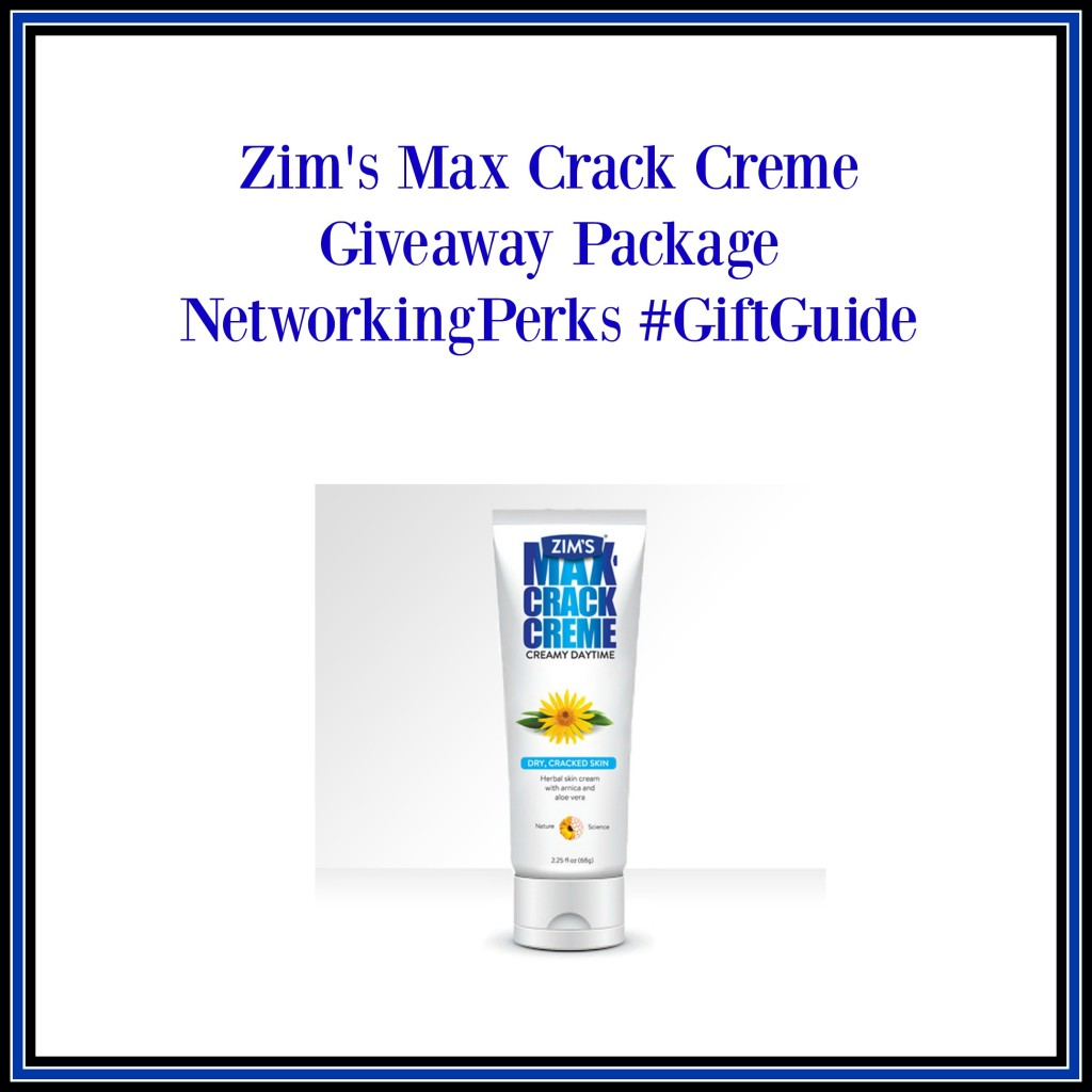 Enter the Zim's Crack Creme Giveaway. Ends 11/26