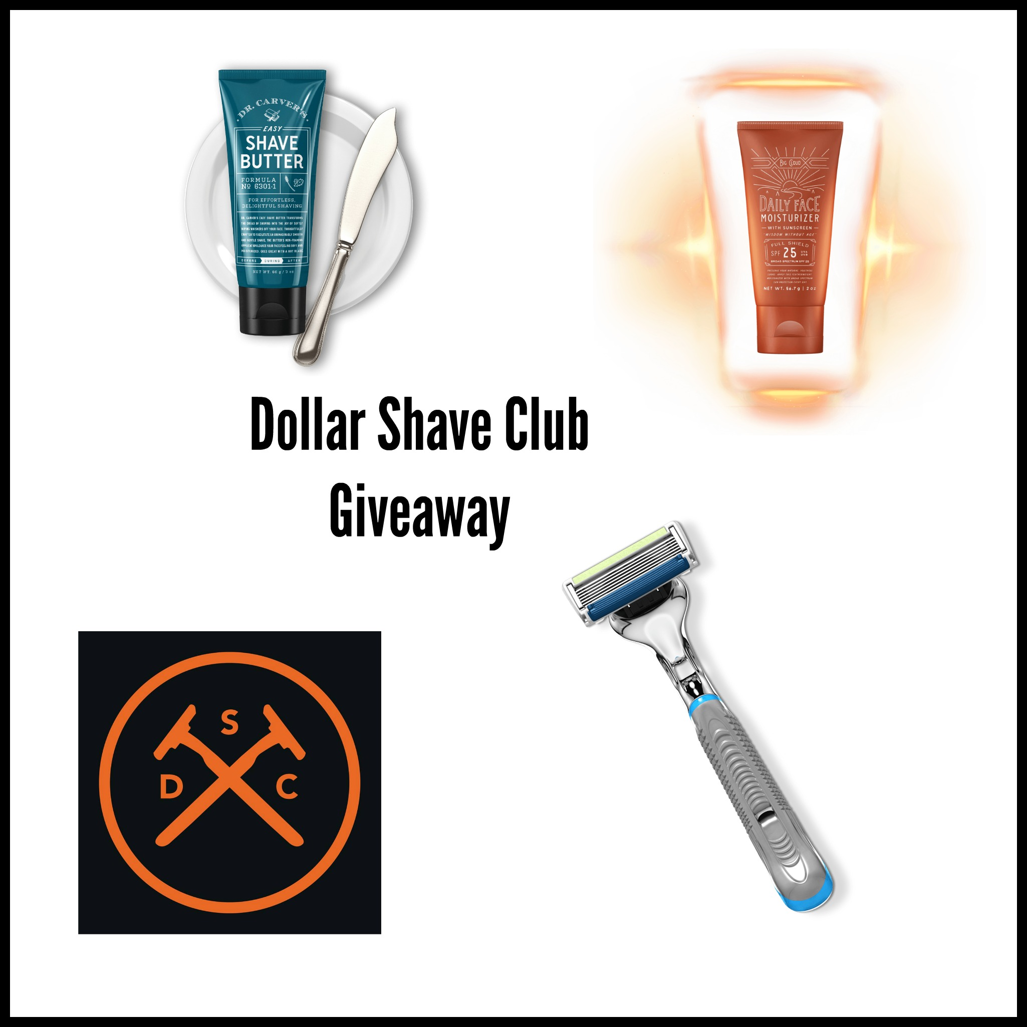 Enter the Dollar Shave Club Subscription Box Giveaway. Ends 2/23