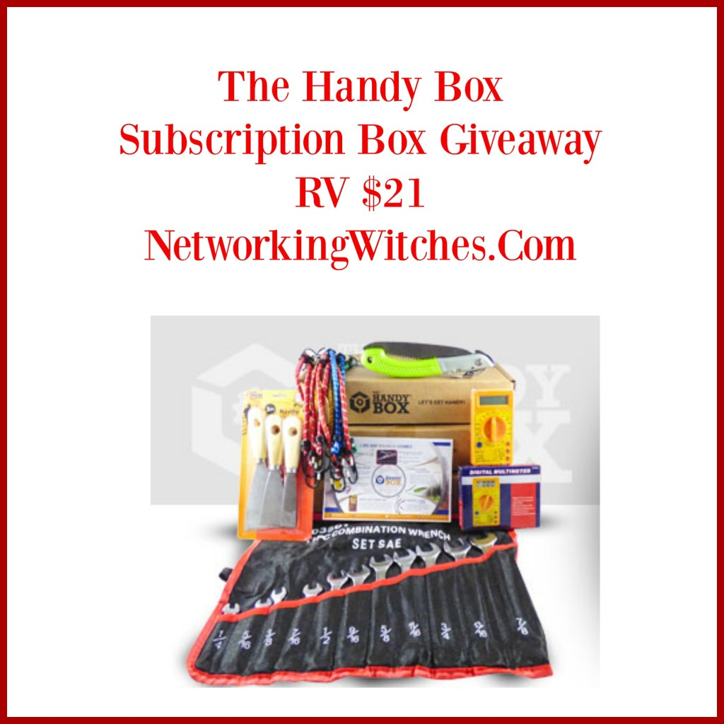 Enter The Handy Box Subscription Box Giveaway. Ends 4/5
