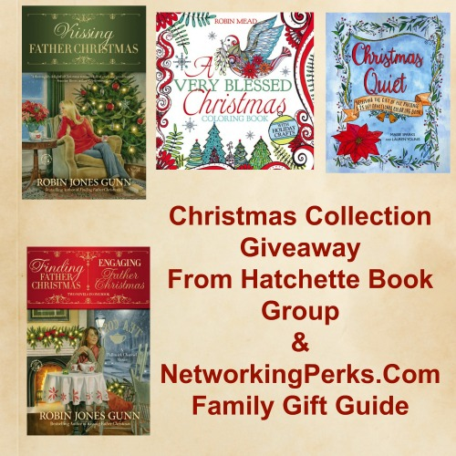 Enter the Christmas Book Collection From Hatchette Book Group Gift Guide Giveaway. Ends 12/16