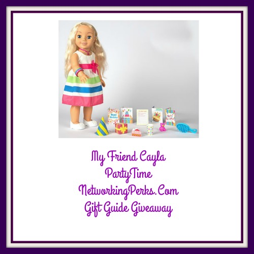 2016 Family Gift Guide My Friend Cayla Party Time Giveaway Ends 12/2