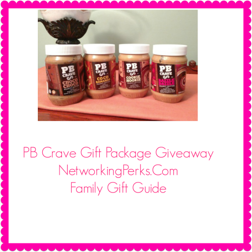 2016 Family Gift Guide PB Crave Giveaway Ends 11/26