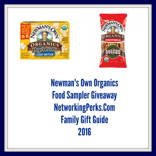 Enter the Newman's Own Food Package Giveaway. Ends 11/18