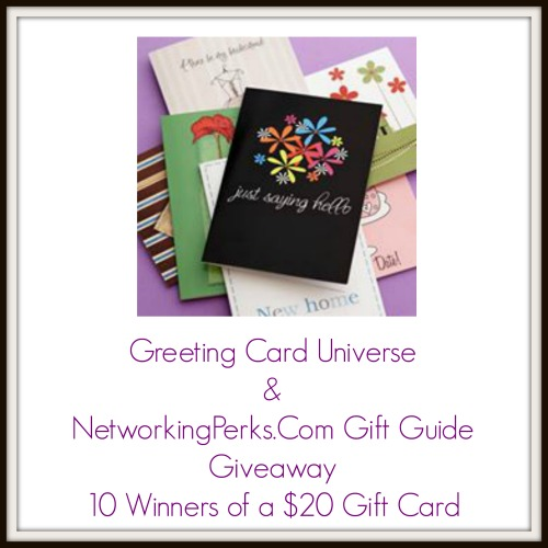 Enter the Greeting Card Universe Giveaway. Ends 12/28
