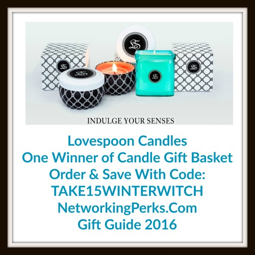 Enter the  Lovespoon Gift Basket Family Gift Guide Giveaway. Ends 12/26