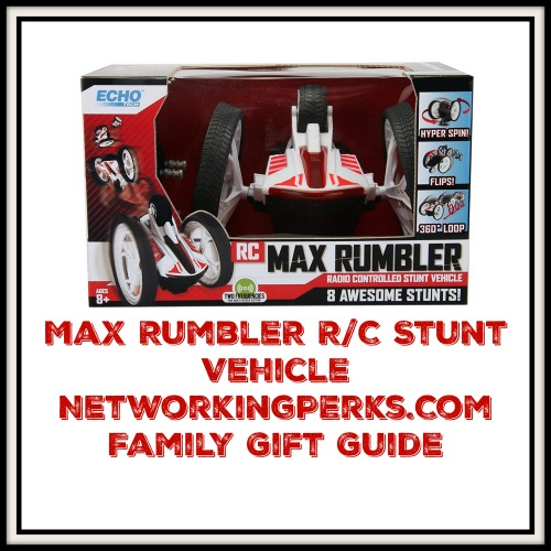 Max Rumbler R/C Stunt Vehicle