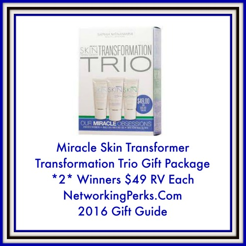 Enter the Miracle Skin Transformer Giveaway. Ends 12/29