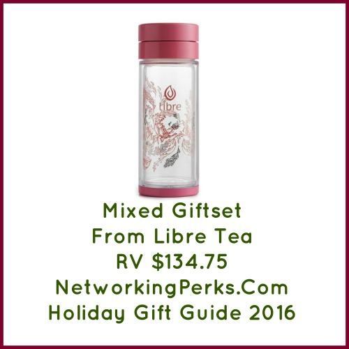 Libre Tea Glass Gift Set Giveaway. Ends 12/18