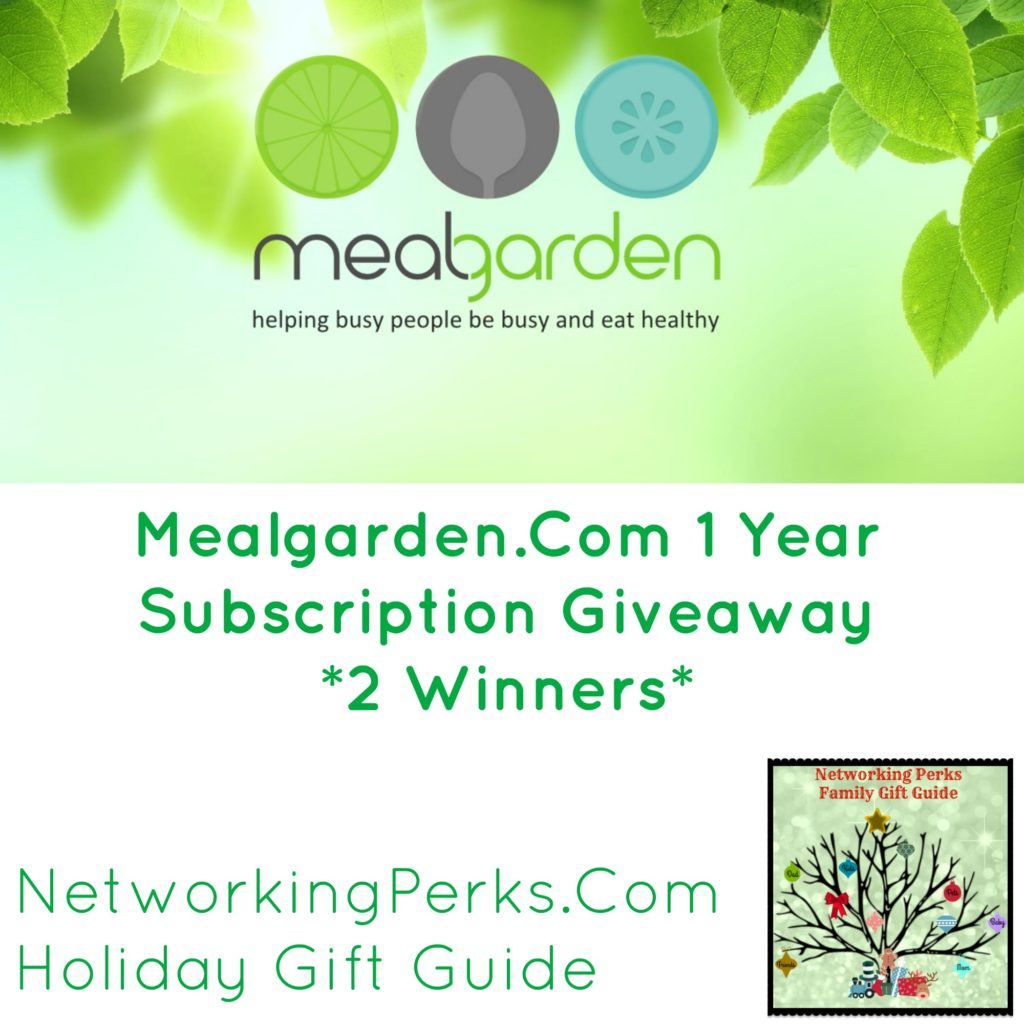 Give The Gift Of Meal Planning With Mealgarden *2* Winners