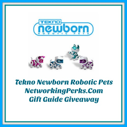 Enter the Tekno Newborn Robotic Pet Family Gift Guide Giveaway. Ends 12/24